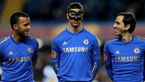 Masked Torres nets twice for Blues