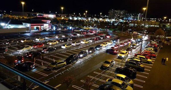 Krispy Kreme Traffic Mayhem Blanchardstown Capture d'écran de Dublin Live Tweet