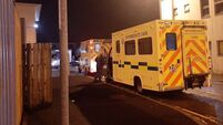Covid-19: Patients treated in ambulances outside Letterkenny University Hospital