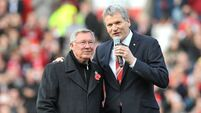 Gill pays tribute to retiring Fergie