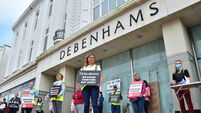 'We're still on strike' - Former Debenhams staff overwhelmingly reject Government deal