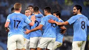 Phil Foden strikes as Manchester City edge past battling Brighton