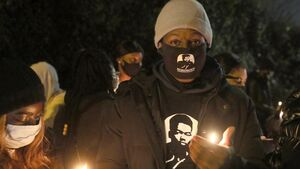 Candle-lit vigil held after shooting of George Nkencho