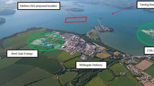Plan to import gas through Cork harbour abandoned as port company severs ties with US firm