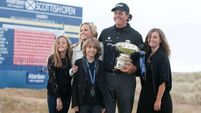 Mickelson climbs rankings after Scottish Open win