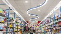 SuperValu to use recycled CDs for shop floor lighting