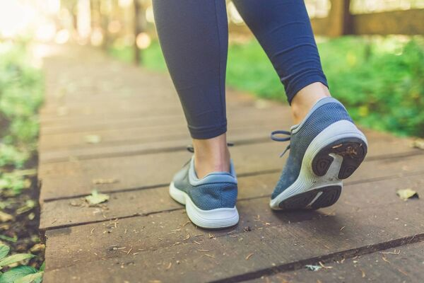 Daily walks can help to keep your gut healthy too (iStock/PA)
