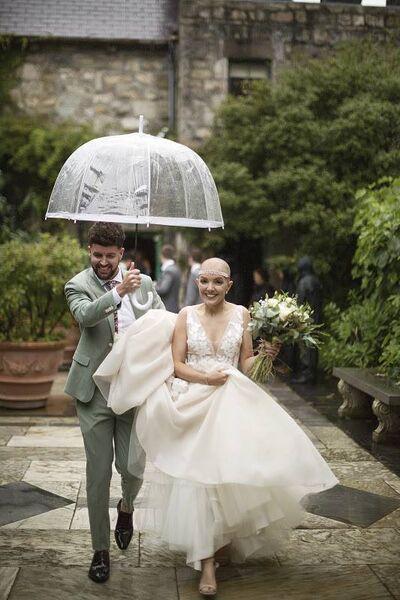 Luke Skinnader and Amelia got married in Donegal in September 2019.