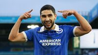 Leeds United v Brighton and Hove Albion - Premier League - Elland Road