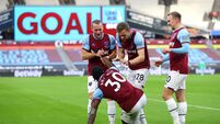 West Ham United v Burnley - Premier League - London Stadium