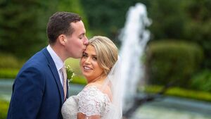 Wedding of the Week: It poured rain for the day but Aisling and Donnagh didn't even notice