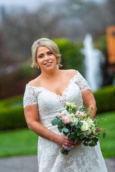 Aisling Kelly looks stunning in a Mori Lee dress