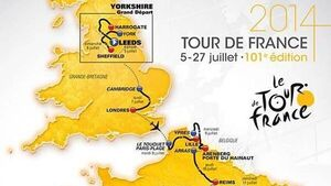 2014 Tour route is unveiled