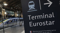 Virus Outbreak France Eurostar