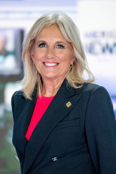 Dr Jill Biden will be the first First Lady to work full-time while serving. Picture: Getty Images.