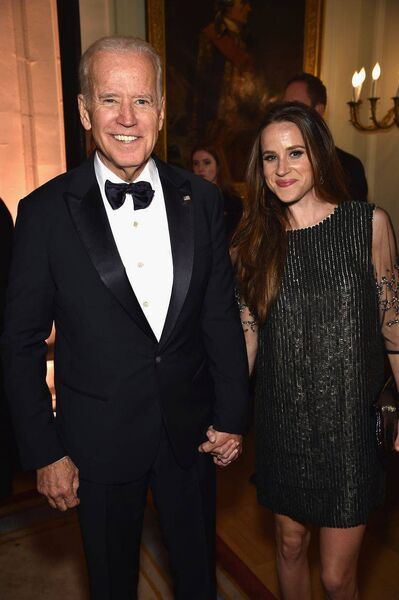 Ashley Biden has been vocal in her support for her father. Picture: Getty Images