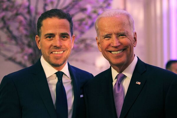 Hunter Biden has faced intense scrutiny from the media but his father has always voiced his support of his only surviving son. Picture: Getty Images