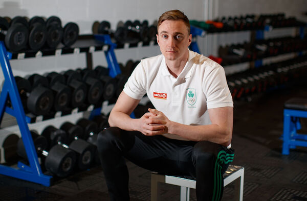 Swimmer Shane Ryan: I have been asked if I ever regretted it, or would I do it again, and the answer is that I would. 100%, no doubt. Picture: INPHO/James Crombie