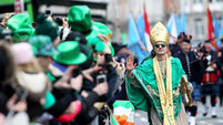 FILE PHOTO The St. Patrick's Day Parade in Dublin has been cancelled following the meeting of the Cabinet Subcommittee on Covid-
