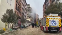 Two dead after large explosion in central Madrid