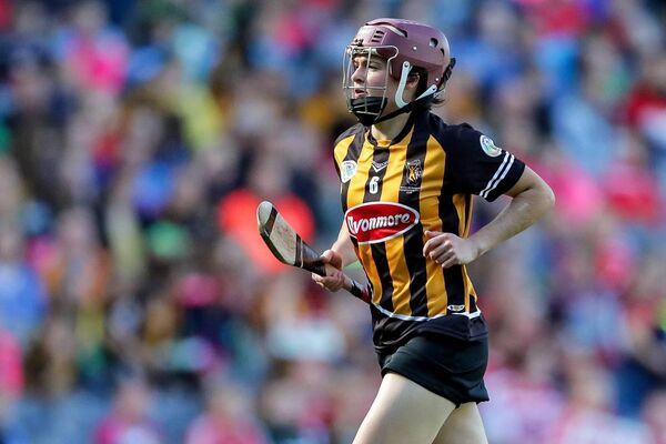 Kilkenny's Anne Dalton during the 2018 All-Ireland camogie final. Picture: INPHO/Laszlo Geczo