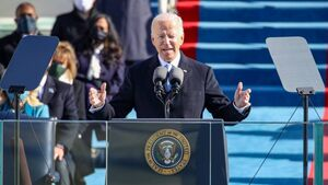 'Democracy has prevailed': Joe Biden sworn in as 46th US president