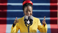 Poet Amanda Gorman delivers inspirational inauguration performance