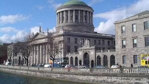 Gardaí arrest 11 following protest outside the           Four Courts