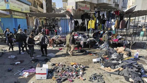 Twin suicide bombings rip through market in central Baghdad