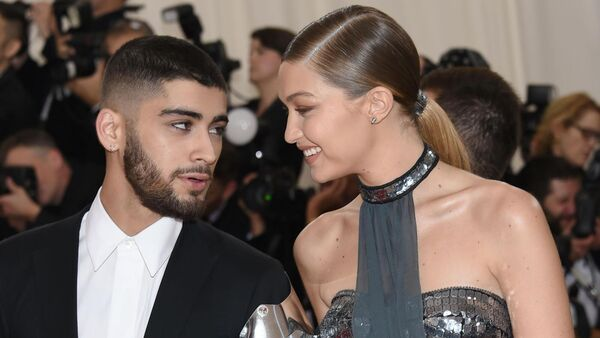 A file picture of Zayn Malik and Gigi Hadid.