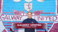 Lisa Fallon reunites with John Caulfield at Galway United