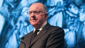 Charlie Flanagan 'blurring the lines' with two roles, Labour leader claims