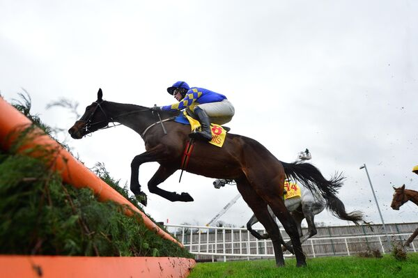 Kemboy and David Mullins during a race last year. Picture: Healy Racing.