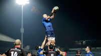 Rhys Ruddock in a line-out 8/1/2021