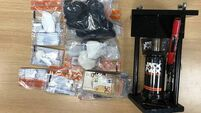 Man, 20s, arrested following seizure of over €65k in cocaine and cash