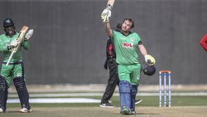 Aghanistan seal series-clinching win over Ireland despite Paul Stirling's record century
