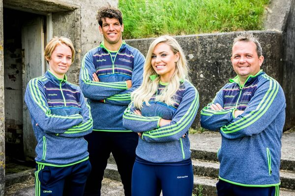 Coaches Derval O'Rourke, Donncha O'Callaghan, Anna Geary and Davy Fitzgerald
