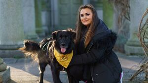 Brain surgery survivor embarks on 99km charity walk with rescue dog