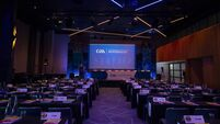 A general view of the 2020 GAA Congress 29/2/2020