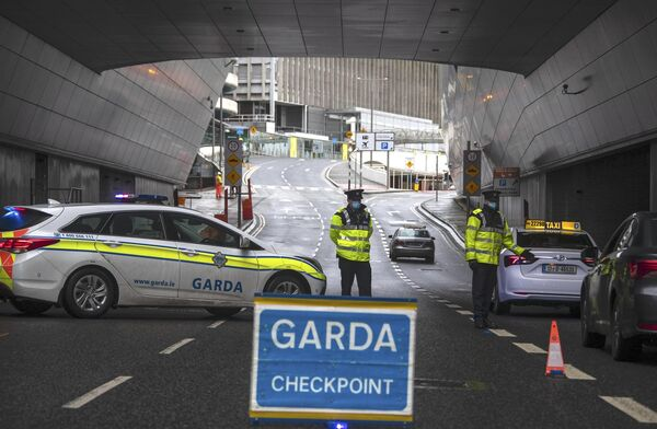 The Government introduced a raft of new travel restrictions on Tuesday. Picture: Colin Keegan, Collins Dublin