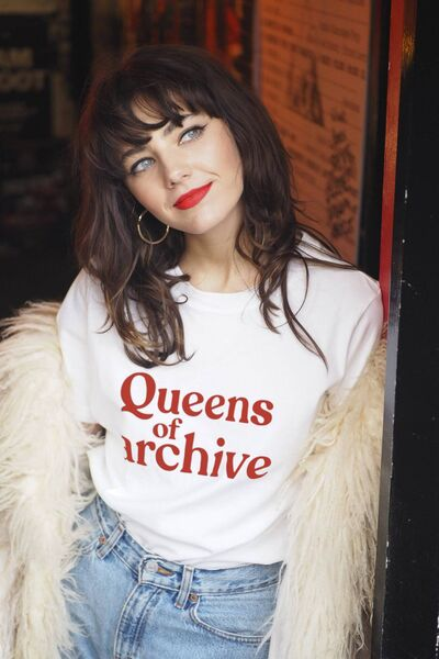 Queens of Archive Logo T-Shirt, €40