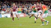 Westmeath ease past Carlow to set up quarter-final against Dubs
