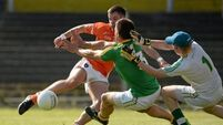 Armagh rampant with 27-point win over Leitrim