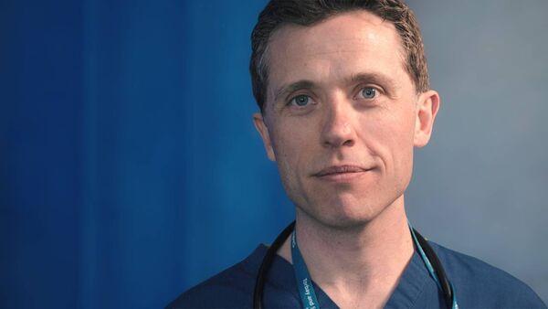 Consultant gastroenterologist Alan Desmond. Picture: Jay Cox, Fizzeek Media