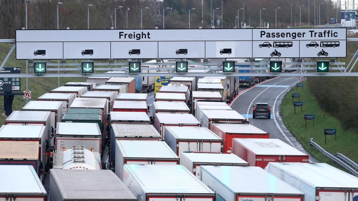 UK exports to EU fall 68% since deal as Brexit chaos worsens
