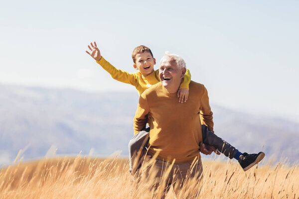 It's important to continue exercising as you age, but make sure it's not too strenuous.