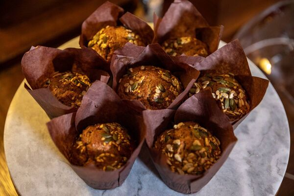 Breakfast muffins from Ballynahinch