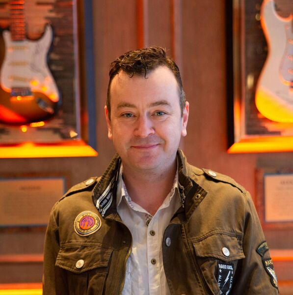 Joe Ballance, Vibe Manager at the Hard Rock Hotel Dublin
