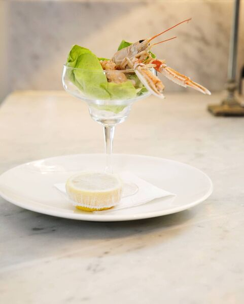 Sean's Poached Langoustine Cocktail