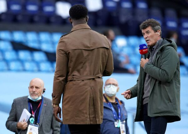 Roy Keane's is the role of a classic emotionally-repressed hard man who looks at the modern world and is vaguely disgusted by it. Picture: PA